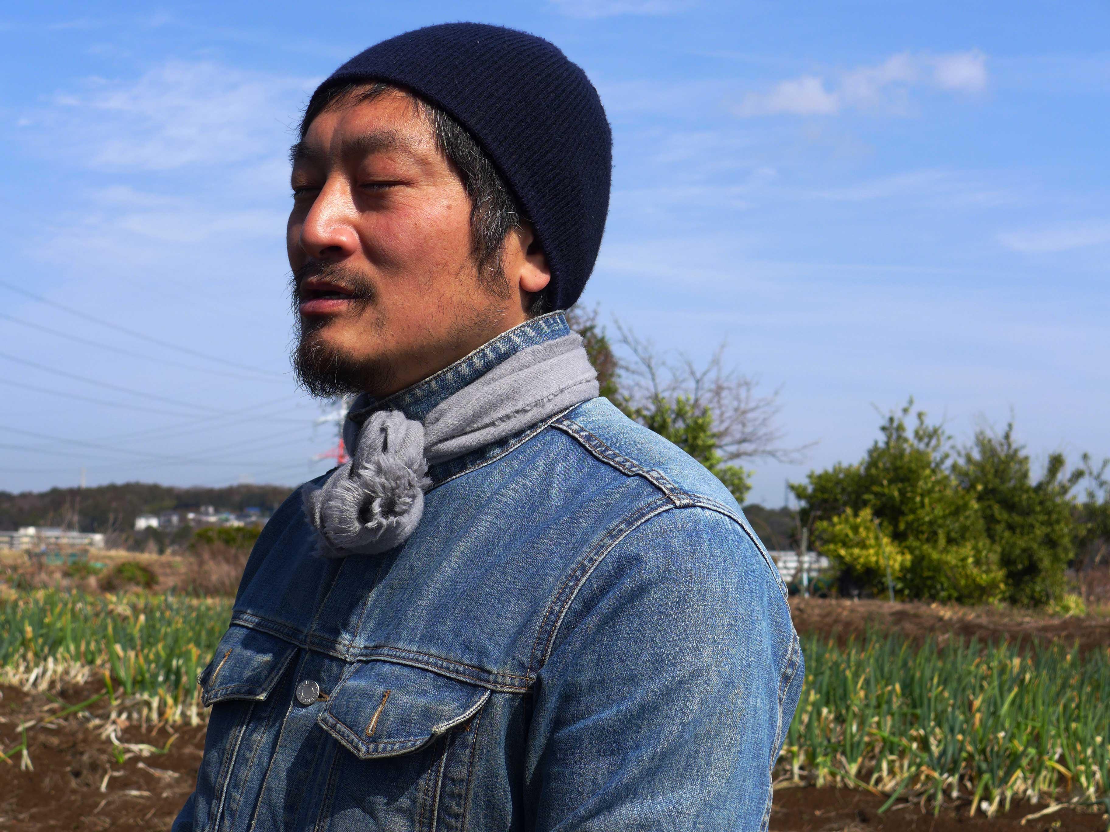 えんちゃん農場 長岡親一郎さん