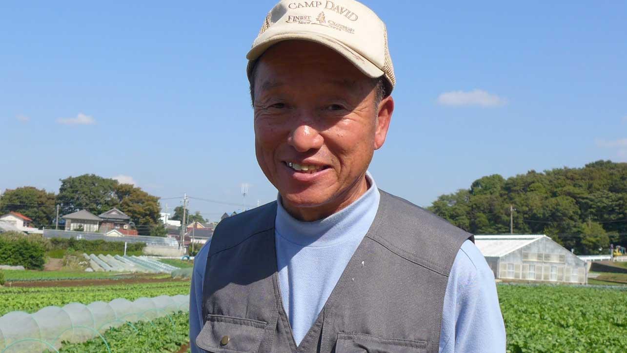 「先祖代々、鎌倉時代からお米と野菜を作り続けています」横浜丸大農園 – 川戸 吉博さん
