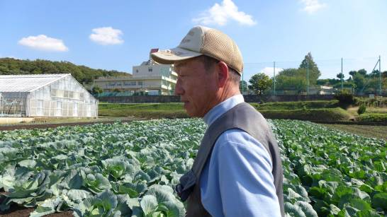 横浜まるだい農園直売所 川戸吉博さん