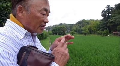 北見信幸さんインタビュー:田んぼの手入れ作業