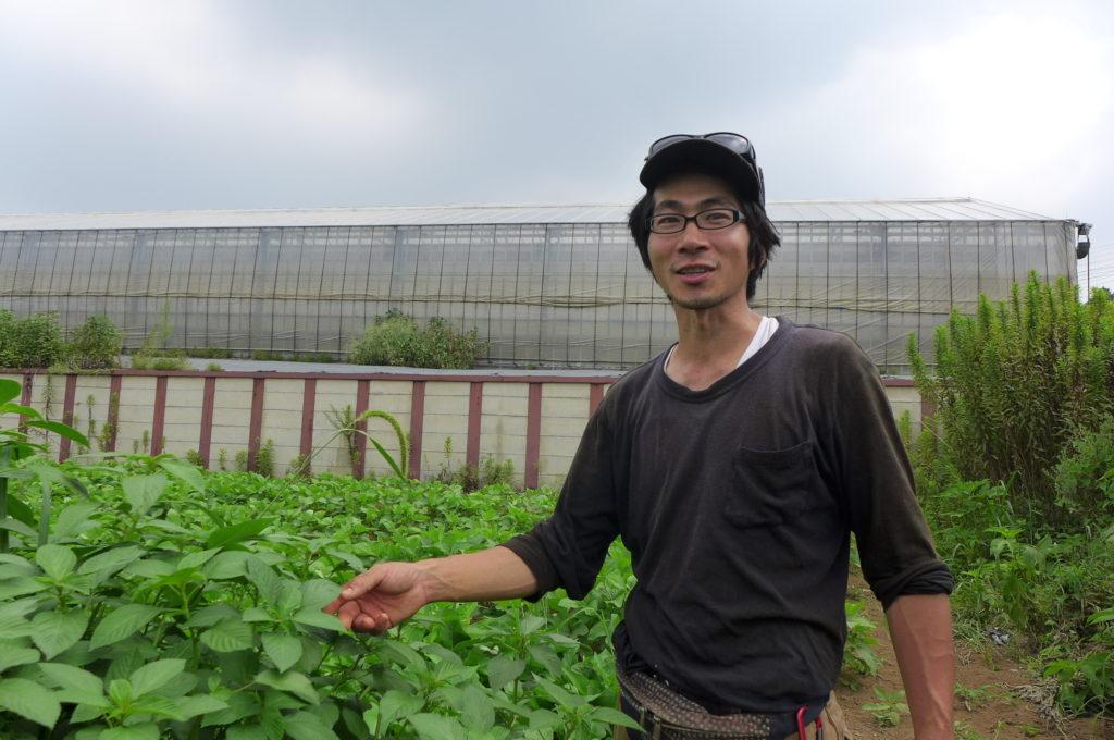 「生産者になって感じた驚きや発見を、みんなと一緒に楽しみたい」柿田 祥誉さん